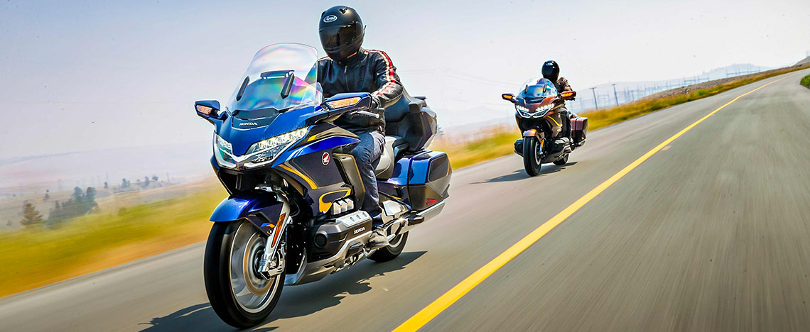 Riders on Gold Wing