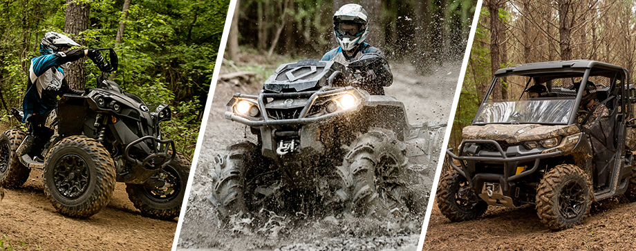 Test Drive a New Can-Am ATV or UTV